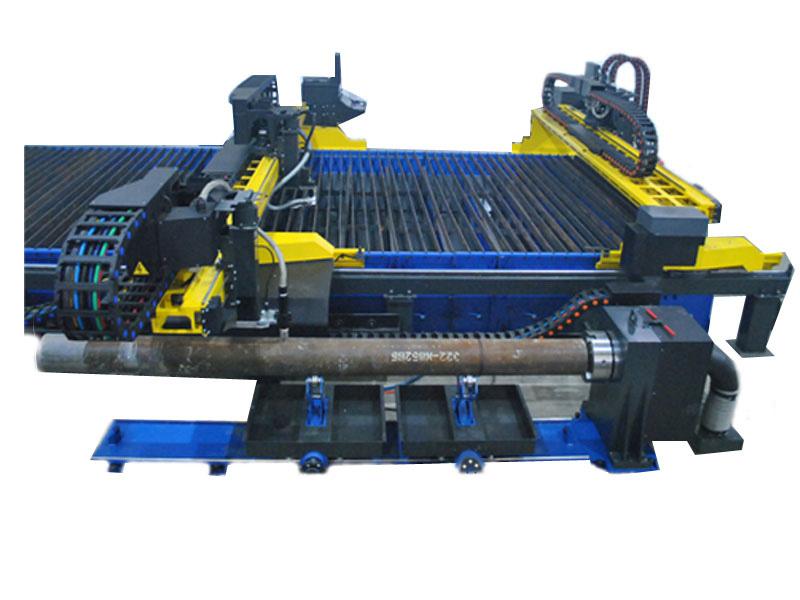 اسٹیل پائپ کاٹنے والی مشین۔